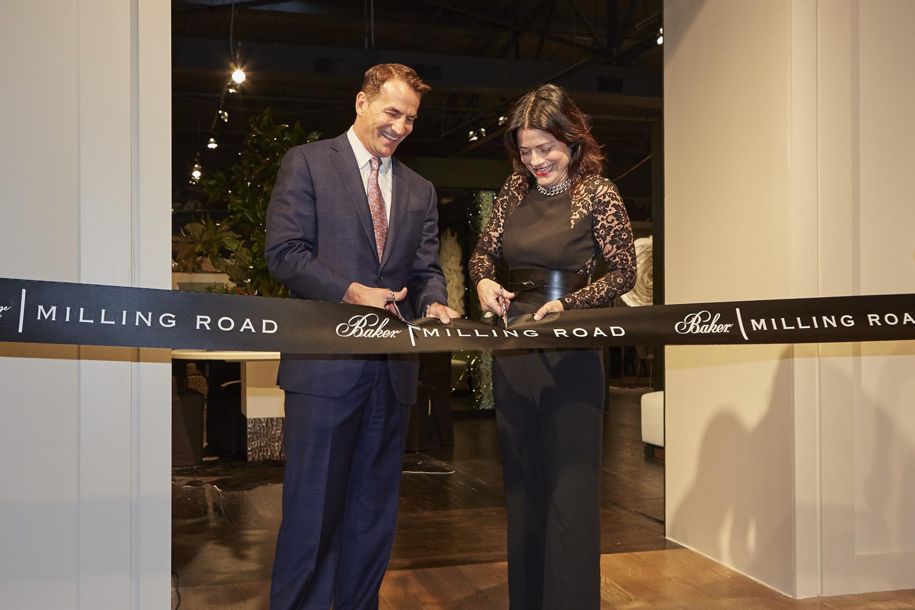 baker relaunches milling road, introduces the kara mann collection