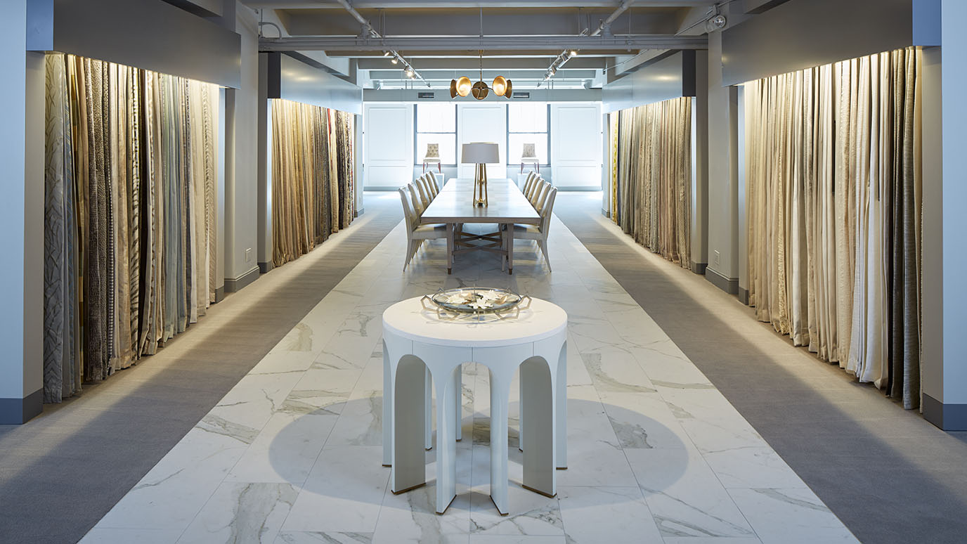 baker launches textile showroom in new york city including over 1 300